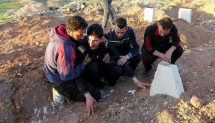 Syrian victim mourns family's deaths in chemical attack