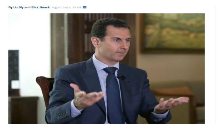 Syria's Assad has become an icon of the far right in America