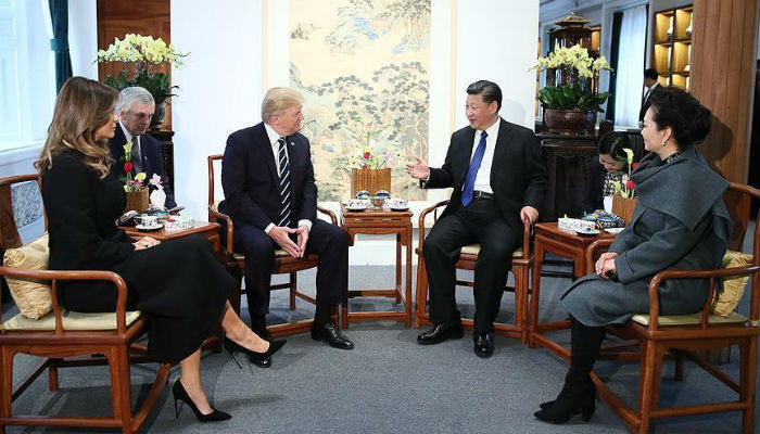 Trump urges China to 'act fast' on North Korea