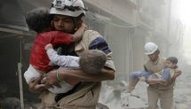 How Syria's White Helmets became victims of an online propaganda machine