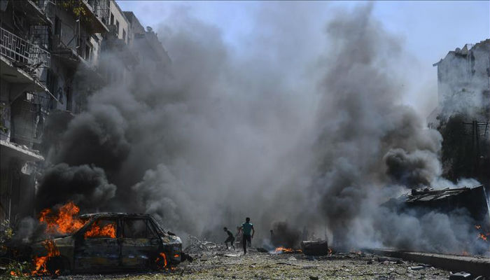 Over 10,000 civilians killed in Syria in 2017: report
